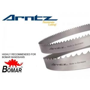 bandsaw blade for bomar model transverse ganc length mm x width mm x mm x tpi