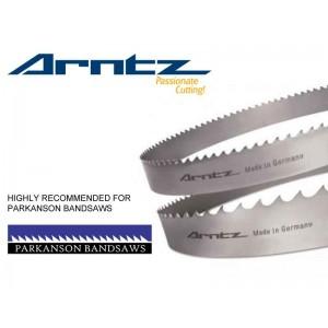 bandsaw blade for parkanson model pkdms length mm x width mm x x tpi